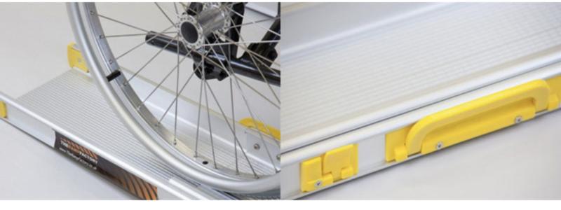 Rampes fauteuil roulant téléscopiques