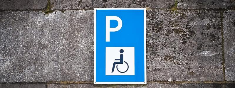 panneau fauteuil roulant