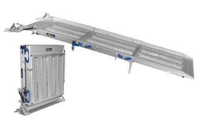 Rampes pliables pour camions- 3 parties