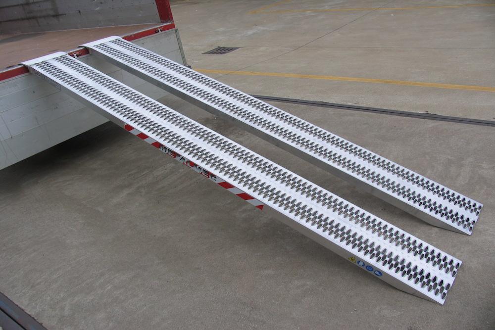 Rampes de Chargement pour Professionnels jusqu'à 4500kg