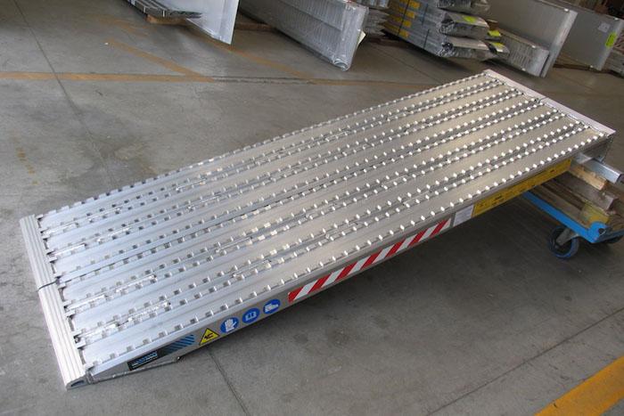 Rampes de Chargement surface fraisée pour chenilles en acier - Jusqu'à 58 Tonnes