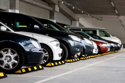 Butoirs de parking