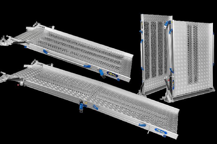 Rampes pliables pour camions- 2 Parties