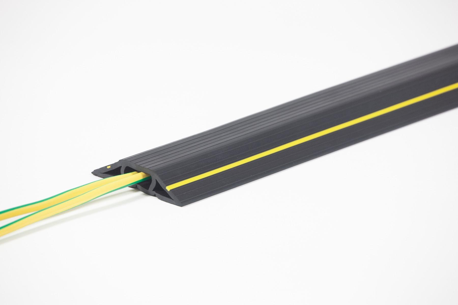 Protège-câbles en caoutchouc / PVC